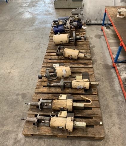 After the Valves have been tested they will be transported and assembled on site